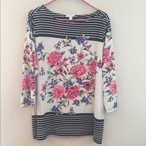 Charter club blouse/tunic